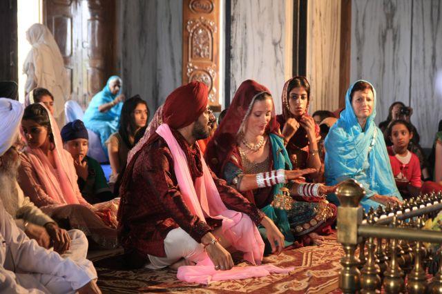 Zdjęcia: Pushkar, Rajasthan, Ceremonia w Swiatynii, INDIE