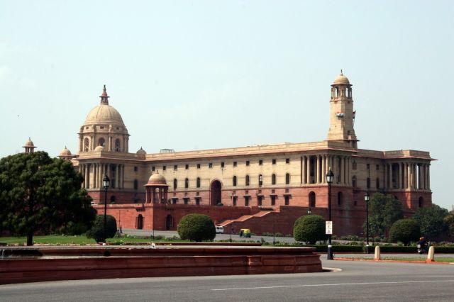 Zdjęcia: Delhi - Pałac prezydencki, To trzeba zobaczyć ..., INDIE
