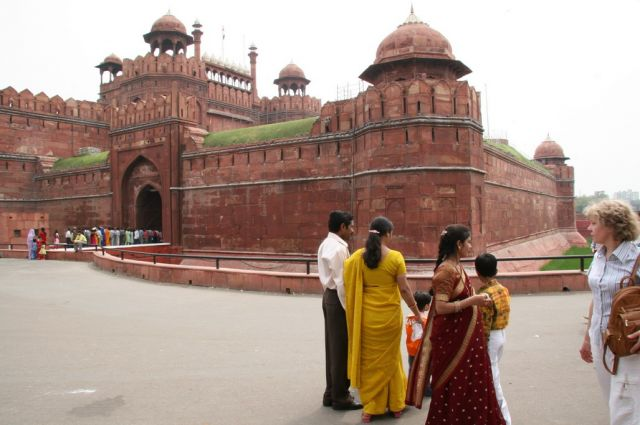 Zdjęcia: Delhi - fort, To trzeba zobaczyć ..., INDIE