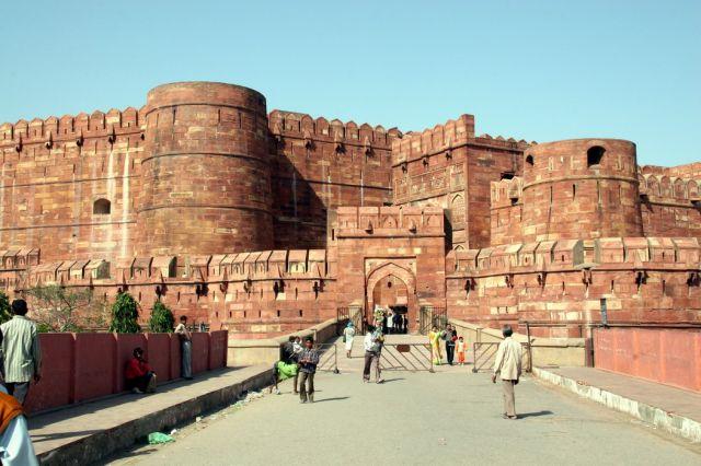 Zdjęcia: Agra - Czerwony Fort, To trzeba zobaczyć ..., INDIE