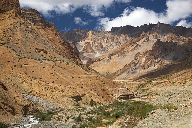 Zdjęcia: Okolice Lamayuru, Ladakh, dolinka, INDIE