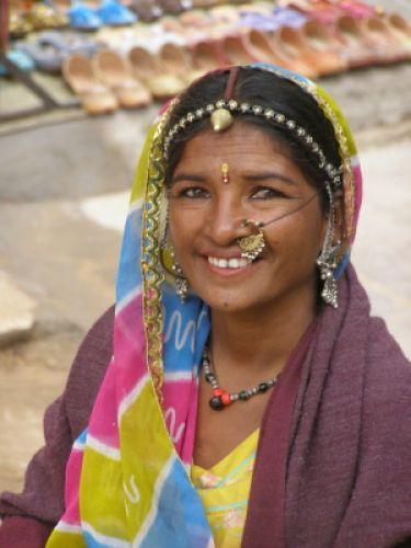 Zdjęcia: Indie, Kobieta, INDIE