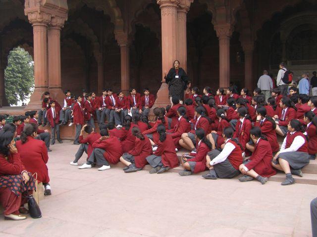 Zdjęcia: Indie, Lekcja historii, INDIE