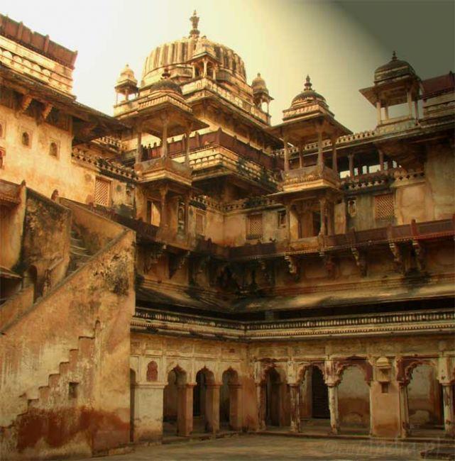 Zdjęcia: Orchha, Madhya Pradesh, Opuszczony fort, INDIE