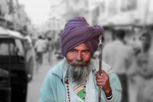 Zdjęcia: Udaipur, Rajasthan, pielgrzym, INDIE