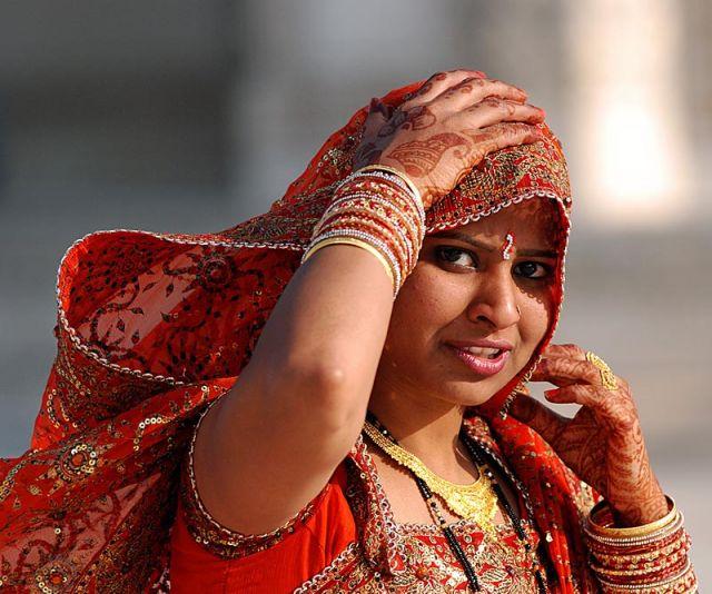 Zdjęcia: Agra, Portret kobiety, INDIE