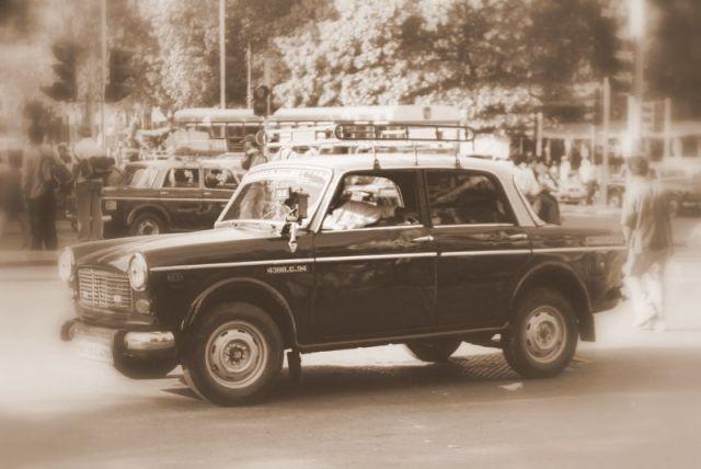 Zdjęcia: Mumbai (Bombaj), Taxi, INDIE