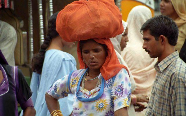 Zdjęcia: Jodhpur, Rajastan, Tobołek, INDIE