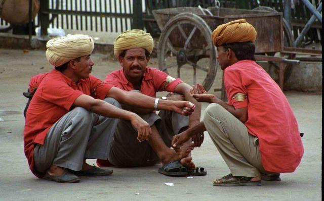 Zdjęcia: Jodhpur, Rajastan, Oczekiwanie na pociąg, INDIE