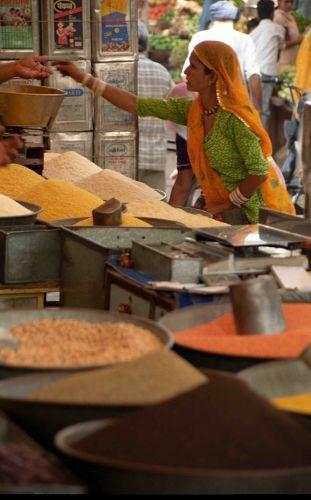 Zdjęcia: Jodhpur, Rajastan, Transakcja, INDIE
