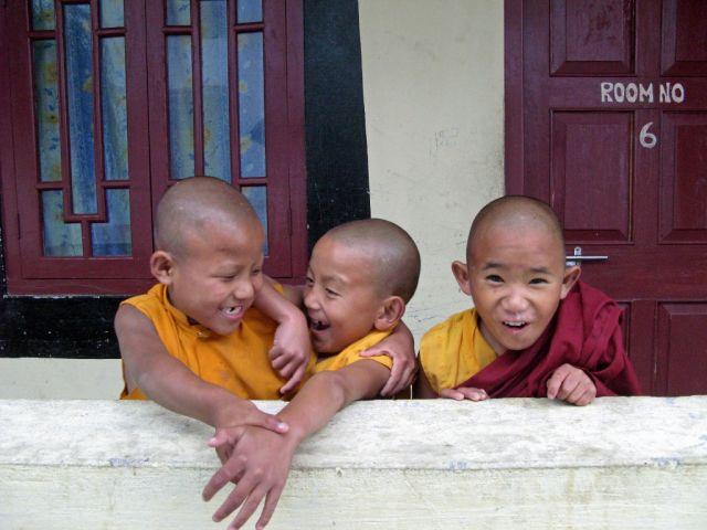 Zdjęcia: Gangtok, Sikkin, Podstawówka mnichów, INDIE