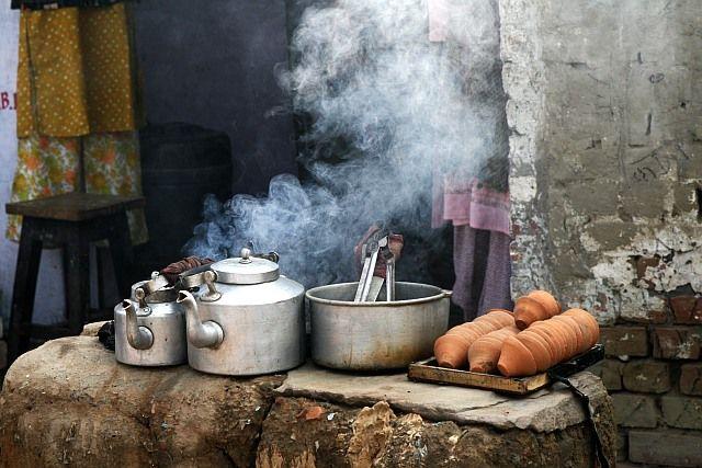 Zdjęcia: Varanasi, Uttar Pradesh, a może herbatki ?, INDIE