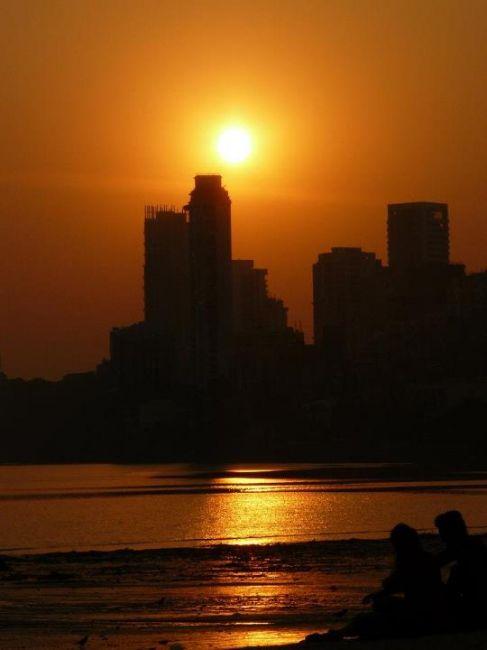 Zdjęcia: Mumbai, Mumbai, Zachód słońca , INDIE