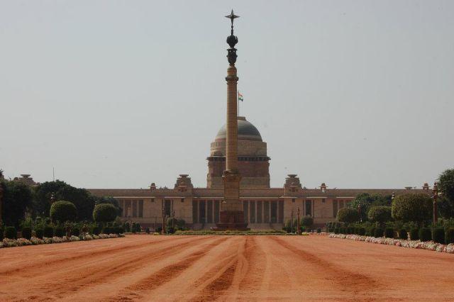 Zdjęcia: New Delhi, Delhi, Pałac Prezydencki, INDIE