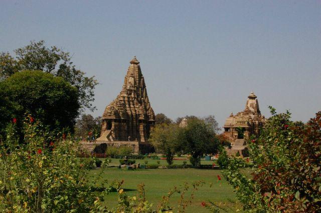 Zdjęcia: Khajuraho, Madhya Pradesh, Świątynie w Khajuraho, INDIE