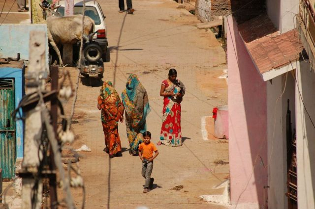 Zdjęcia: Orchha, Uttar Pradesh, Na spacerze, INDIE