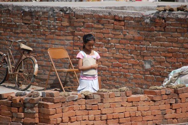 Zdjęcia: Orchha, Uttar Pradesh, Zamyślona, INDIE