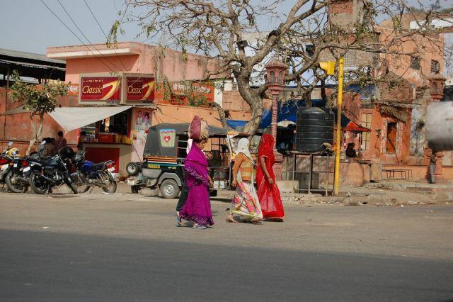 Zdjęcia: Jaipur, Radżastan, Powrót z zakupów, INDIE