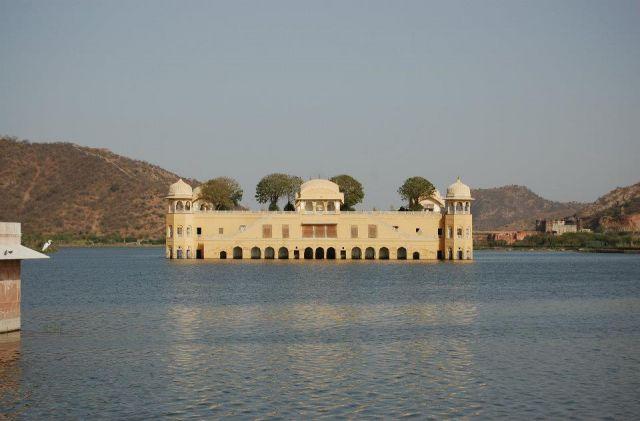 Zdjęcia: Jaipur, Radżastan, Pałac na wodzie, INDIE
