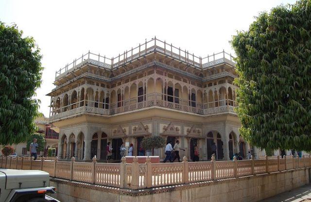 Zdjęcia: Jaipur, Radżastan, Pałac miejski, INDIE