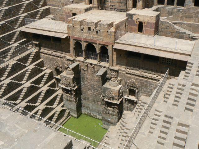 Zdjęcia: Abhaneri, Rajasthan, Baoli - studnia schodkowa, INDIE