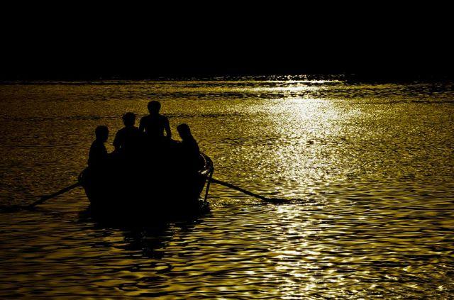 Zdjęcia: ., ., Varanasi poranek, INDIE