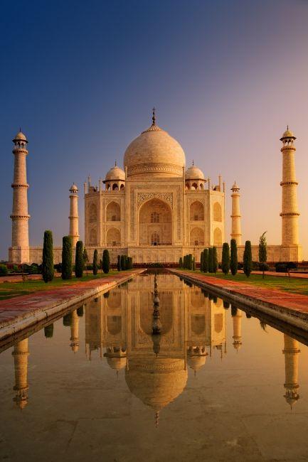 Zdjęcia: Agra, Taj raniutko, INDIE