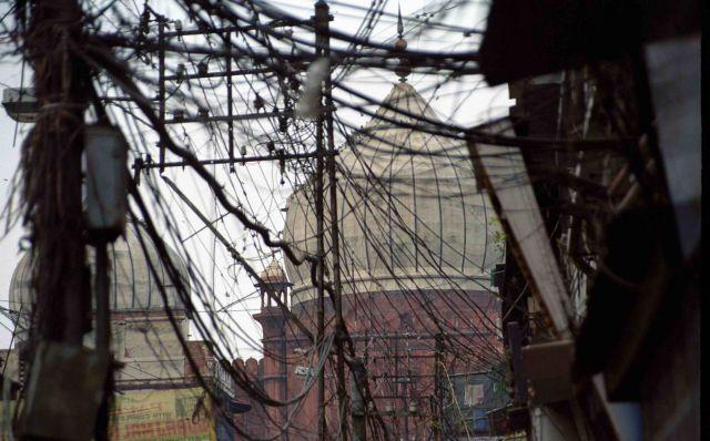 Zdjęcia: New Delhi, Sieć elektryczna:), INDIE