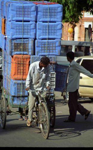 Zdjęcia: Delhi, Lokalny transport, INDIE