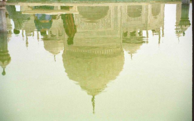 Zdjęcia: Taj Mahal, Odbicie, INDIE