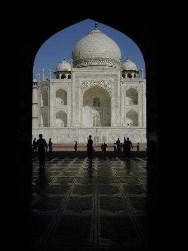 Zdjęcia: Agra, Taj Mahal od zachodniej strony, INDIE
