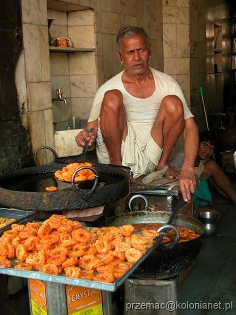 Zdjęcia: Jaipur, Sprzedawca pakory, INDIE