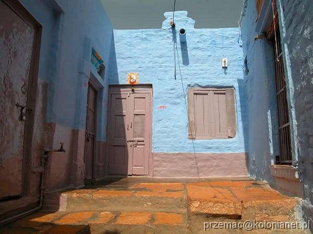 Zdjęcia: Jaisalmer, Kolorowy budynek w forcie, INDIE