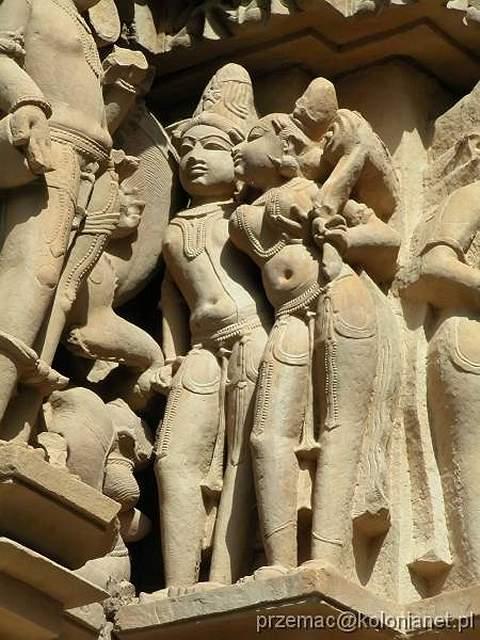 Zdjęcia: Khajuraho, Erotyczne rzeźby w Khajuraho, INDIE