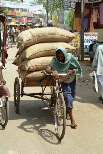 Zdjęcia: Varanasi, Firma Transportowa, INDIE