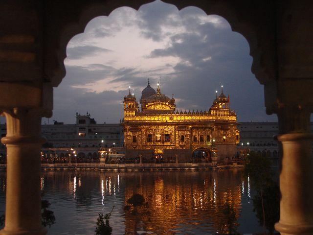 Zdjęcia: Amritsar, Złota światynia Sikhów, INDIE