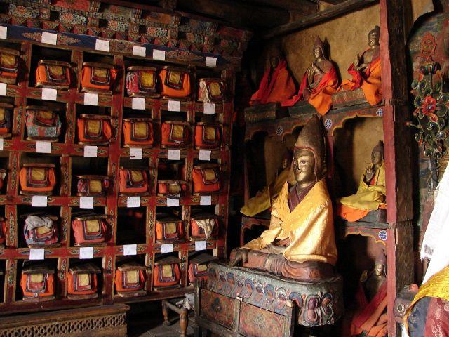 Zdjęcia: Dolina Leh , Ladakh, biblioteka w klasztorze , INDIE
