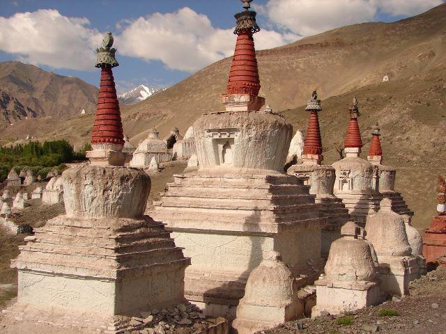 Zdjęcia: Pałac królewski w Stok , Ladakh, gompy w  Stok , INDIE