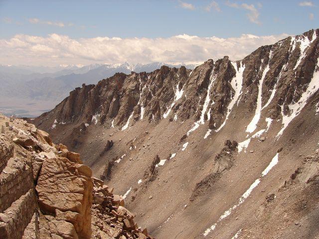 Zdj�cia: Ladakh -, Kashmir - , widok z Khardung La , INDIE