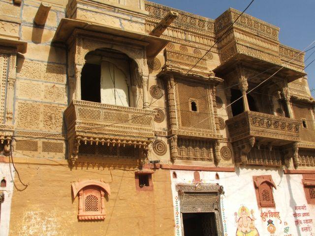 Zdjęcia: Jaisalmer, Radjastan, Havli, INDIE