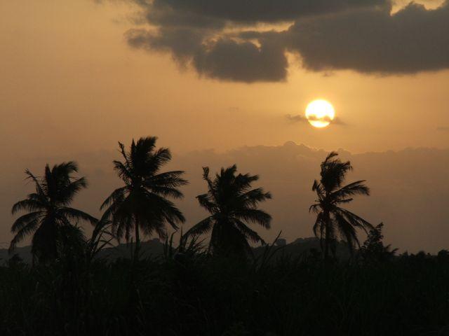 Zdjęcia: Hampi, Karnataka, Pocztówka- zachód słońca nad Hampi, INDIE