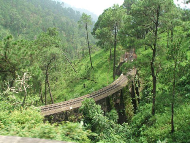 Zdjęcia: Himalaje, Himacal Prades, Trasa kolejki Himalaya Queen, INDIE