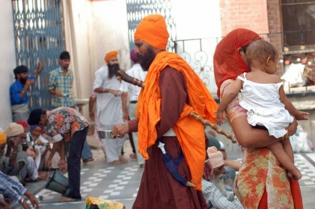 Zdj�cia: Amritsar, Kolory Indii - Sikh, INDIE