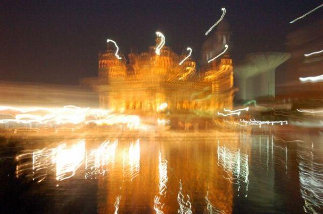 Zdjęcia: Amritsar, Kolory Indii - noc, INDIE