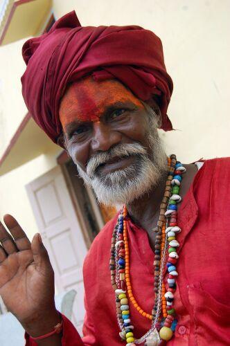 Zdjęcia: Jaipur, Kolory Indii - święty, INDIE