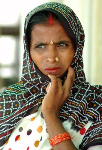 Zdjęcia: Jaipur, Kolory Indii - mężatka, INDIE