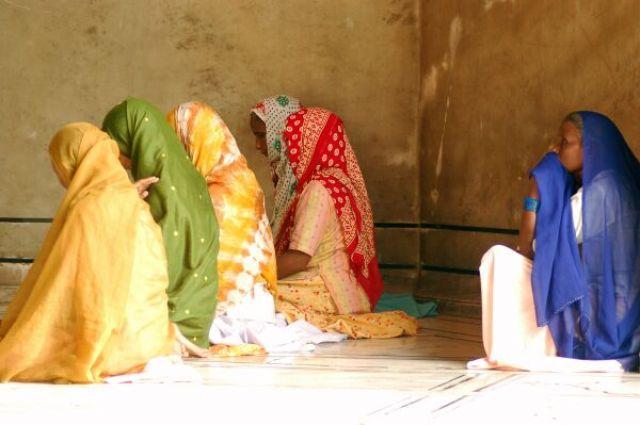 Zdj�cia: Delhi, Kolory Indii - meczet, INDIE