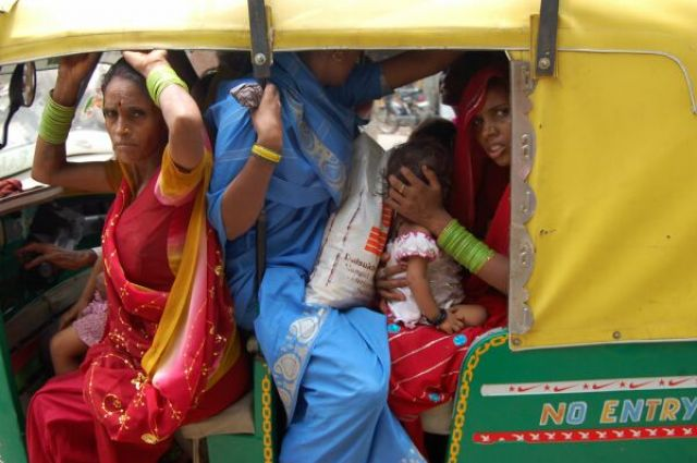 Zdj�cia: Agra, Kolory Indii - ulica, INDIE