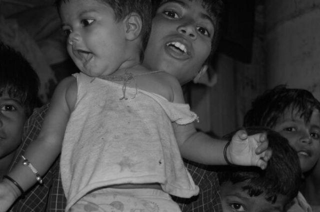 Zdjęcia: Delhi, Kolory Indii - szkoła , INDIE