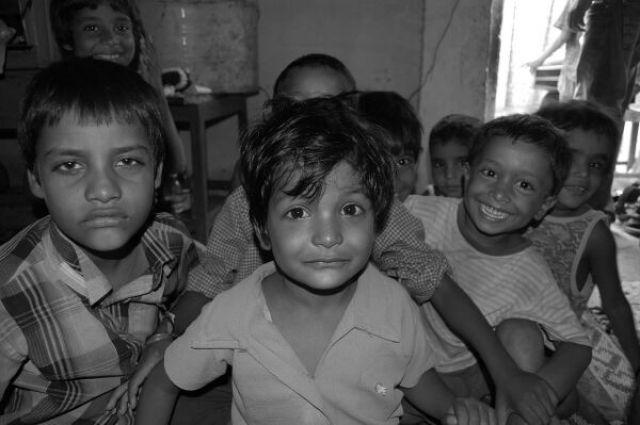 Zdjęcia: Delhi, Kolory Indii - szkoła, INDIE